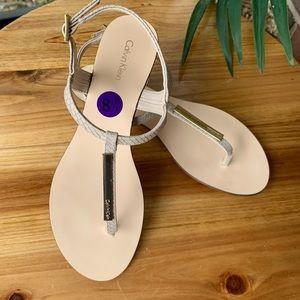 CALVIN KLEIN SANDALS 😍 NEW!! Size US 8,5